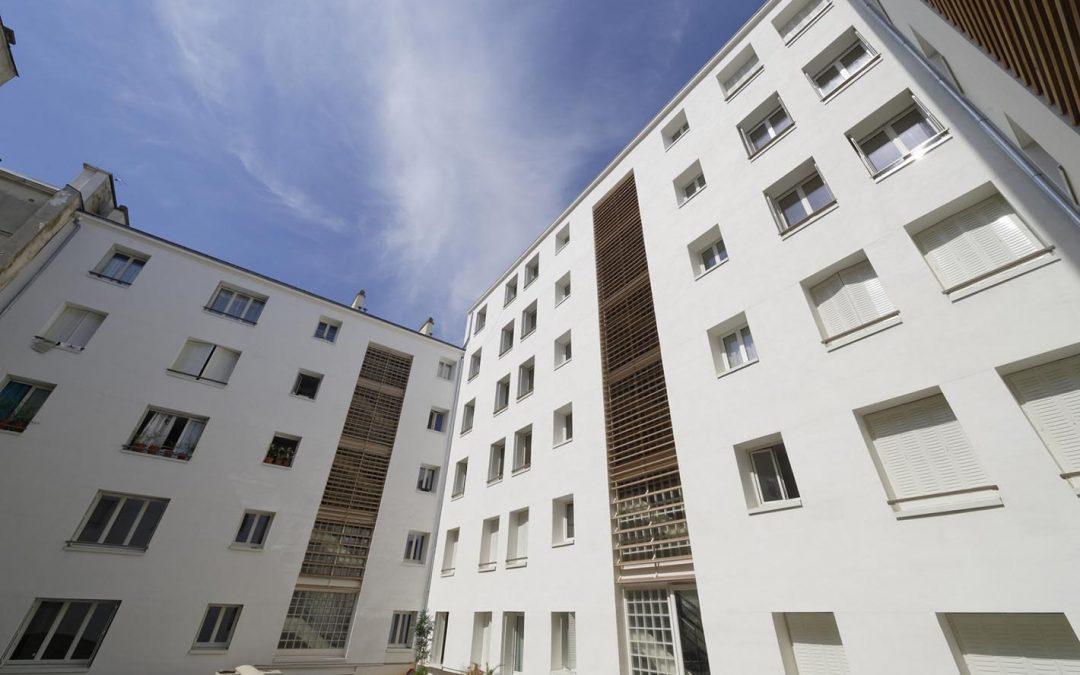 Refurbishment of 54-56, rue d'Aboukir, Paris