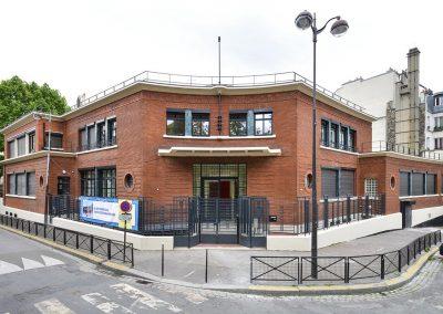 Réamenagement d'une crèche et d'un centre de PMI Square Alban Satragne – Paris 10 ème