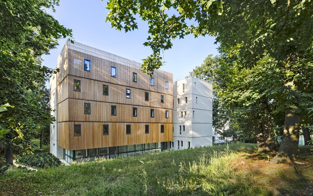 University hall of residence 'La Fresque', Versailles (78)